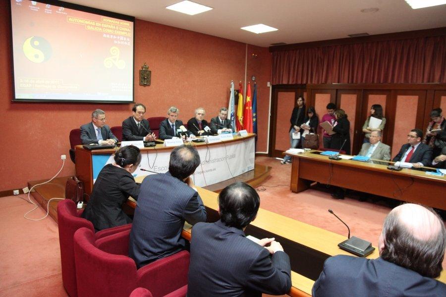 Imaxes Recepción Conselleiro Presidencia. Segunda parte.